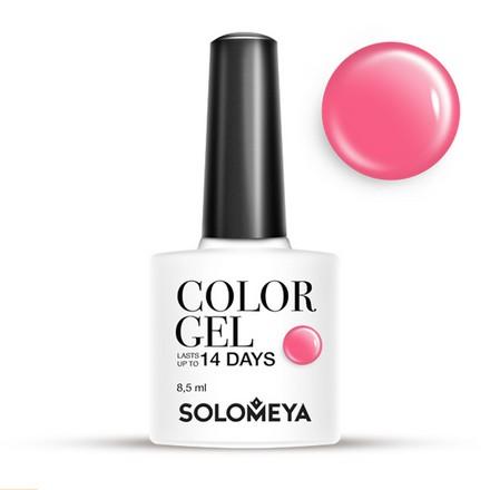 Купить Solomeya, Гель-лак №25, Muscardin, Розовый