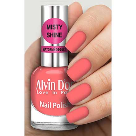 Купить Alvin D`or, Лак Misty shine №541, Alvin D'or, Коралловый