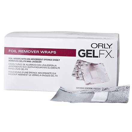ORLY Gel Fx спонжики с фольгой (100 шт)Спонжики<br>Спонжики с фольгой. В упаковке 100 шт.<br>