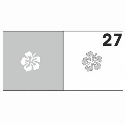 Купить Airnails, Трафареты №27