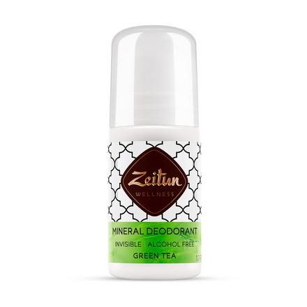 Zeitun, Минеральный шариковый дезодорант «Зеленый чай», 50 мл фото