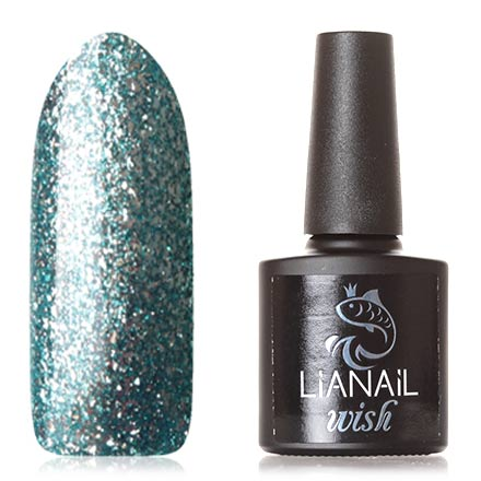 Lianail, Гель-лак Wish Blue Shine №005