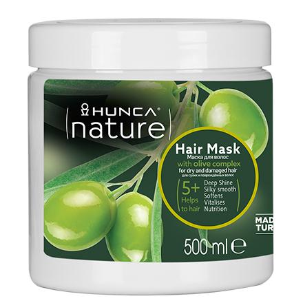 Купить Hunca, Маска для волос Olive Oil, 500 мл