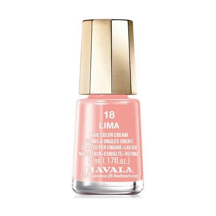Купить Mavala, Лак для ногтей №18, Lima, Розовый