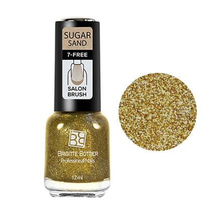 Brigitte Bottier, Лак для ногтей Sugar Sand №314Brigitte Bottier<br>Лак для ногтей (12 мл). Искрящийся золотой.