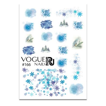 Купить Vogue Nails, Слайдер-дизайн №166