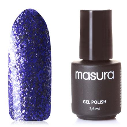 Masura, Гель-лак №R22, Пурпурные брызги фото