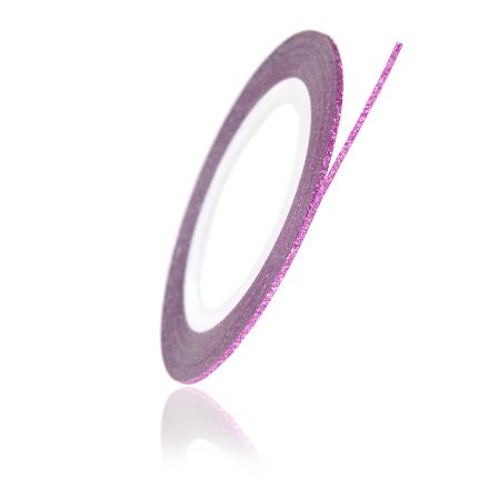 TNL, Нить на клеевой основе перламутровая, розовая
