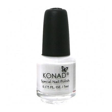 Konad, лак для стемпинга, цвет S01 White 5 ml (белый) konad m88