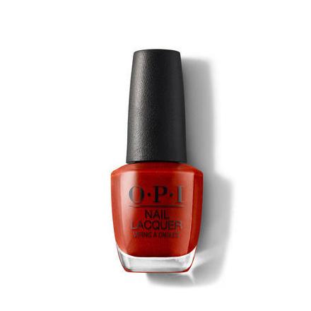 Купить OPI, Лак для ногтей Classic, Now Museum, Now You Don't, Красный