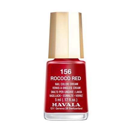 Купить Mavala, Лак для ногтей №156, Rococo Red, Красный