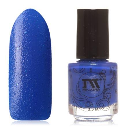 Masura, Лак для ногтей «Золотая коллекция», Mermaid's tearsMasura<br>Лак для ногтей (3,5 мл) кобальтово-синий, с микроблестками и голубыми блестками, плотный.<br><br>Цвет: Синий<br>Объем мл: 3.50