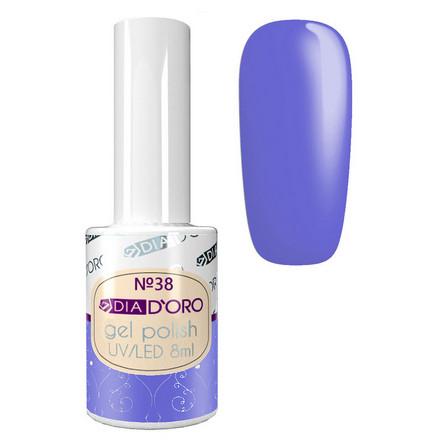Dia D'oro, Гель-лак №38, Фиолетовый  - Купить