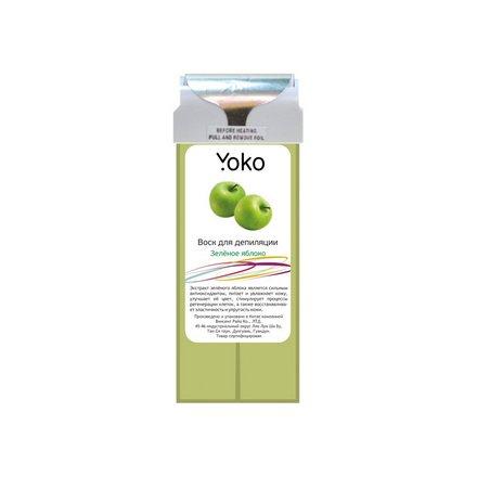 Yoko, Воск в картридже «Зеленое Яблоко», 100 г