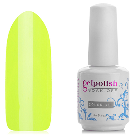 Гель лак Bluesky Gelish, цвет № 1474 Сoco Сabana Banana