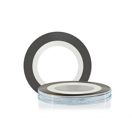 Купить RuNail, Самоклеющаяся лента для дизайна ногтей, серебряная, 20 м