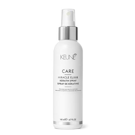 KEUNE, Спрей Care Miracle Elixir Keratin, 140 млСпреи для волос <br>Средство с кератином для восстановления структуры волос.