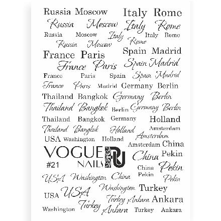 Купить Vogue Nails, Слайдер-дизайн №21