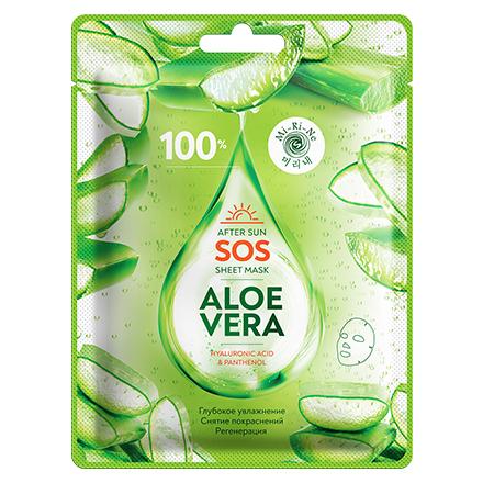 Купить Mi-Ri-Ne, SOS-маска для лица Aloe Vera, 22 г