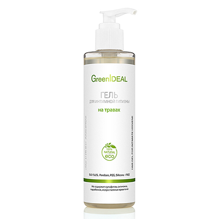 Купить GreenIDEAL, Гель для интимной гигиены «На травах», 250 мл