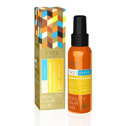 Estel, Увлажняющий спрей Beauty Hair Lab, Aurum, 100 мл масла estel драгоценное масло для волос estel beauty hair lab aurum 100 мл