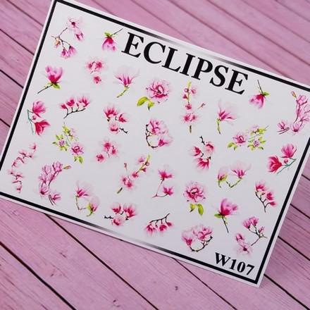 Купить Eclipse, Слайдер-дизайн для ногтей W №107