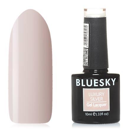 Bluesky, Гель-лак Luxury Silver №273Bluesky Шеллак<br>Гель-лак (10 мл) цвета слоновой кости, без перламутра и блесток, плотный.