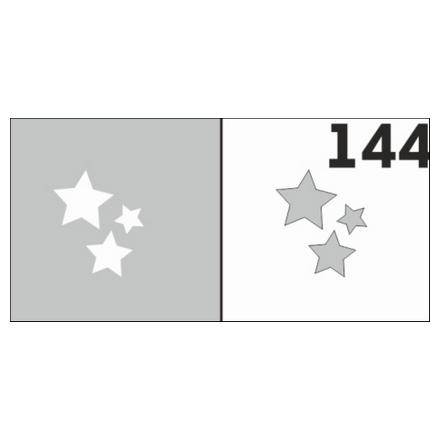 Airnails, Трафарет № 144