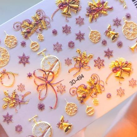 Купить Anna Tkacheva, 3D-слайдер №494 «Новый год. Рождество»