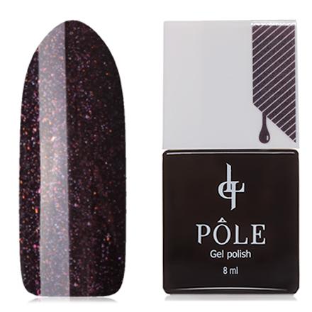 POLE, Гель-лак №182, Виноградный щербетPOLE<br>Гель-лак (8 мл) глубокий красно-фиолетовый, с микроблестками, плотный.<br><br>Цвет: Фиолетовый<br>Объем мл: 8.00