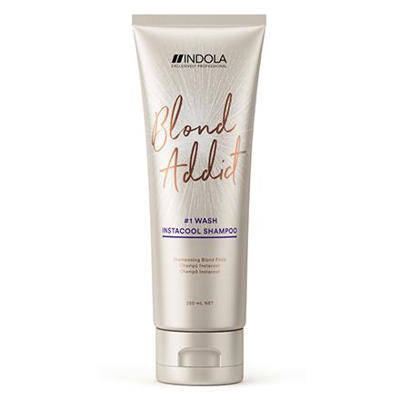 Купить Indola, Шампунь для волос Blond Addict Instacool, 250 мл