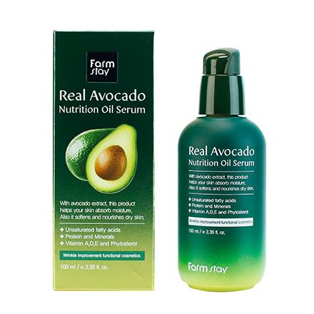 FarmStay, Сыворотка Real Avocado, 100 мл