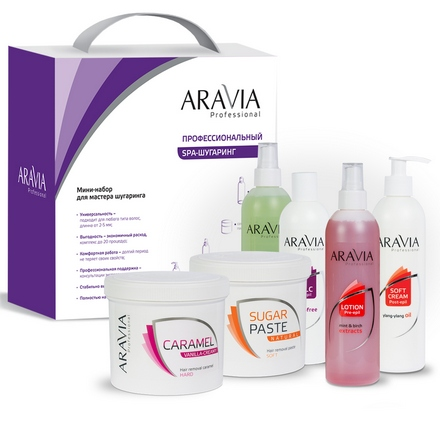 ARAVIA Professional, Мини-набор для мастера шугаринга №2 aravia professional oligo