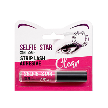 Selfie Star, Клей для ресниц Strip Lash Adhesive, прозрачный, 5 г