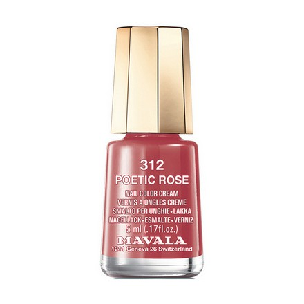 Mavala, Лак для ногтей №312, Poetic RoseMavala<br>Лак для ногтей (5 мл). Точное описание цвета появится в ближайшее время.