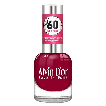 Купить Alvin D'or, Лак «60 секунд» №27, Бордовый