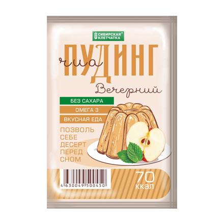 Сибирская клетчатка, Сухой десерт «Чиа Пудинг», вечерний, 28 г