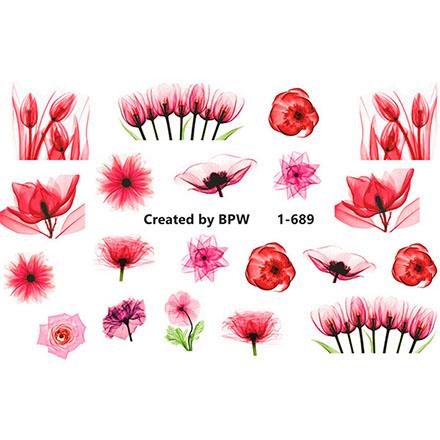 Купить BPW.Style, Слайдер-дизайн «Цветы» №1-689