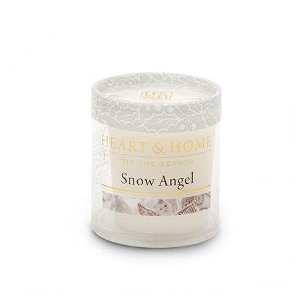 Heart&amp;Home, Мини-свеча «Снежный ангел», 56 гАроматические свечи<br>Окунитесь в сладкий и завораживающий аромат, созданный чтобы наслаждаться мечтами о светлом Рождестве.<br>