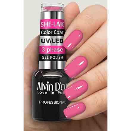 Купить Alvin D'or, Гель-лак №3583, Розовый