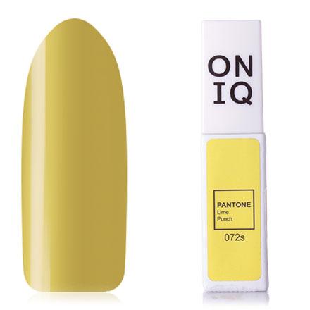 Купить ONIQ, Гель-лак Pantone №072s, Lime Punch, Зеленый