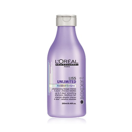 L'oreal, Serie Expert Liss Unlimited Shampoo, Шампунь, 250 мл