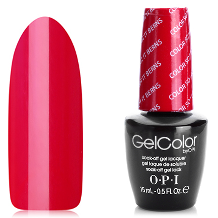 OPI GelColor, Гель-лак Color So Hot It Berns Z13