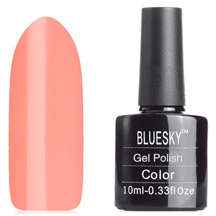 Bluesky, Гель-лак №80592Bluesky Шеллак<br>Гель-лак (10 мл) пастельный оранжевый, полупрозрачный, без блёсток и перламутра.<br><br>Цвет: Оранжевый<br>Объем мл: 10.00