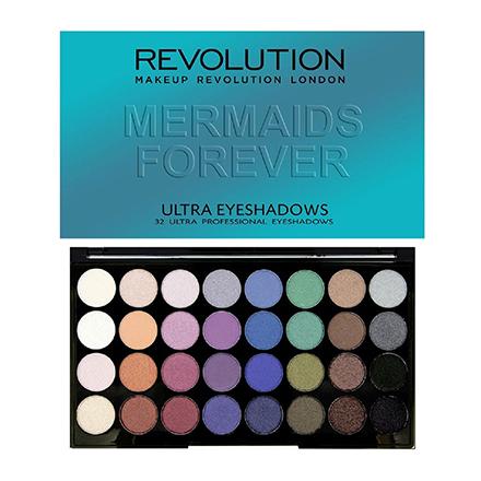 Купить Makeup Revolution, Тени для век 32 Ultra Mermaids Forever