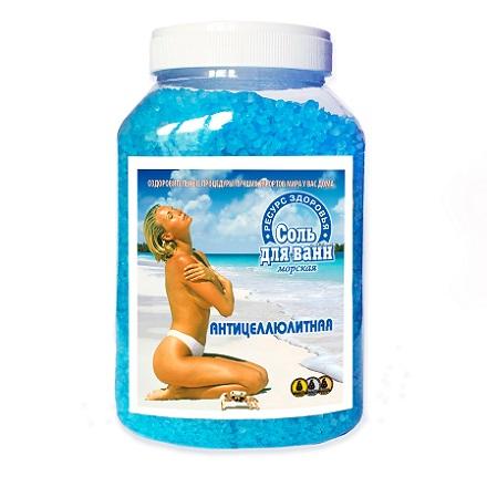 Ресурс Здоровья, Соль для ванны «Антицеллюлитная»