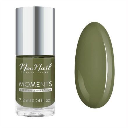 Купить NeoNail, Лак для ногтей Moments №7078-7, Unripe Olives, NeoNail Professional, Зеленый