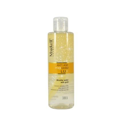 Markell, Мицеллярная вода с золотом, 200 мл мицеллярная вода для снятия макияжа 200 мл
