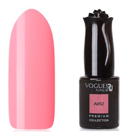 Vogue Nails, Гель-лак Premium Collection А052Vogue Nails<br>Гель-лак (10 мл) кораллово-розовый, без перламутра и блесток, плотный.