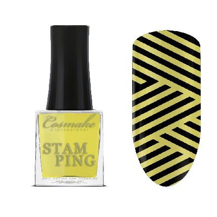 Cosmake, Лак для стемпинга №05, желтый недорого
